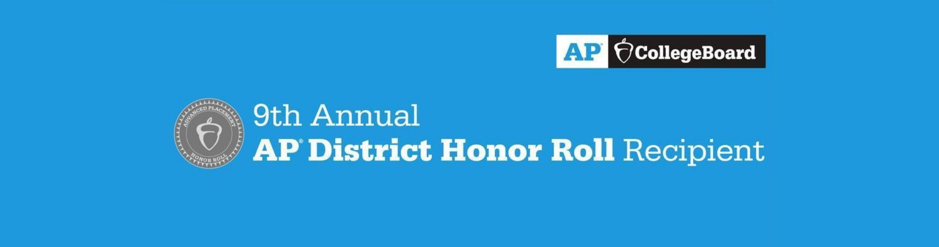 9th Annual District Honor Roll Recipient
